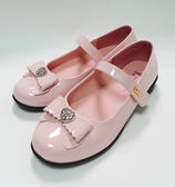 Roberta 漆皮 愛心鑽公主鞋《7+1童鞋》c608粉色