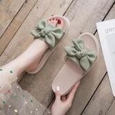 拖鞋女 拖鞋女士2020年夏季新款時尚外穿百搭厚底外出網紅涼拖鞋ins潮鞋 交換禮物