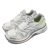 Reebok 慢跑鞋 Premier Road Plus VI 灰 白 男鞋 女鞋 復古 DMX避震【ACS】 H02553