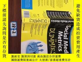 二手書博民逛書店Social罕見Media Metrics For DummiesY154527 Leslie Poston