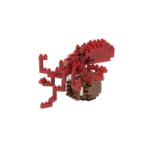 【日本 Kawada 河田】Nanoblock 迷你積木 章魚 NBC-134