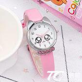 兒童手錶 正韓兒童手錶女孩男孩中小學生女童電子石英錶卡通可愛防水皮帶錶 TC原創館