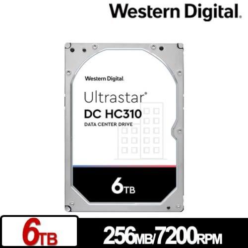 Western Digital WD 威騰 Ultrastar DC HC310 6TB 3.5吋 企業級硬碟