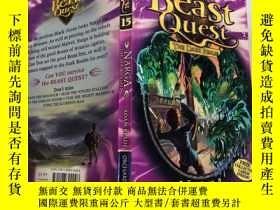 二手書博民逛書店Beast罕見Quest THE DARK REALM NARGA THE SEA MONSTER: 野獸探秘 黑