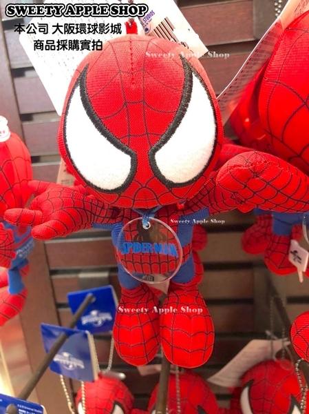(現貨&樂園實拍) 日本 大阪環球影城限定 MARVEL 漫威系列  蜘蛛人 別針珠鏈玩偶娃娃