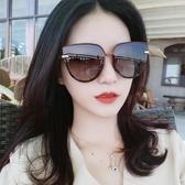 新款墨鏡女圓臉大框韓版潮偏光太陽眼鏡ins防紫外線眼睛街拍