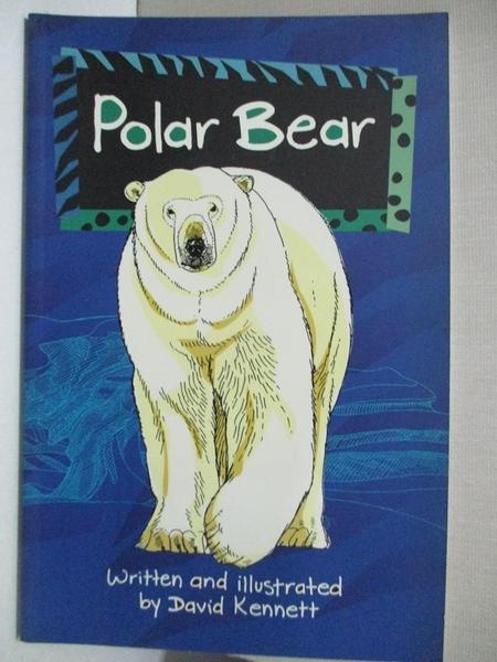 【書寶二手書T6/兒童文學_GFA】Solo Wildlife: Polar Bear