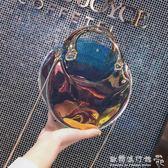 潮天超火個性手提斜背包鐳射透明果凍包包    歐韓流行館