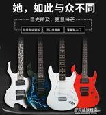 吉他-電吉他單搖ST繫列套裝初學者入門專業級電子吉他樂器搖滾教程演奏 多麗絲旗艦店