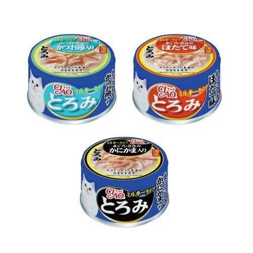 *KING *【單罐】CIAO 多樂米濃湯罐 貓罐頭 多種口味可選-80g