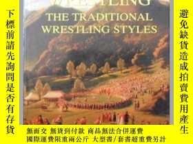 二手書博民逛書店the罕見roots of wrestling the trad