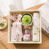 喜糖盒  訂製歐式創意多肉婚禮喜糖盒子成品含糖 伴手禮回禮禮盒婚品  瑪奇哈朵