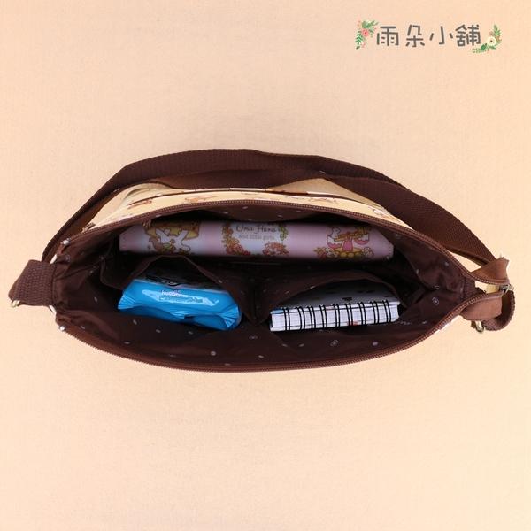 斜側背包 包包 防水包 雨朵小舖 Z-89-050 輕輕斜側背包-藍暖暖嫩嫩的刺蝟06284 uma hana