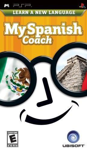 PSP My Spanish Coach 我的西班牙教練(美版代購)