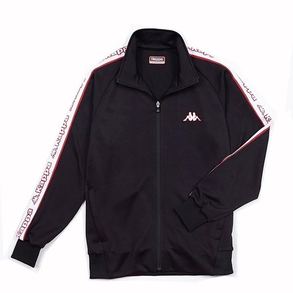 KAPPA義大利時尚型男運動針織外套~黑304TTY0964