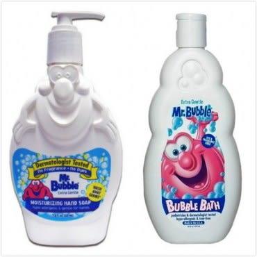 美國 Mr. Bubble 洗手乳 溫和配方+泡泡浴 無香精