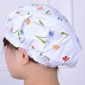 家用浴帽浴室洗澡防水帽成人兒童淋浴帽女款【卡米優品】