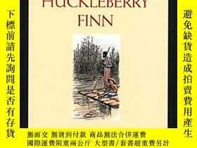 二手書博民逛書店Adventures罕見Of Huckleberry Finn (mark Twain Library)Y25