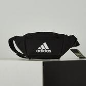 Adidas EC WAIST 黑 三葉草 斜背 腰包 FN0890
