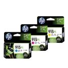【三彩一組】HP NO.915XL 915XL 原廠墨水匣 盒裝 適用officejet pro 8020