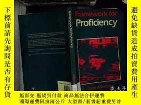 二手書博民逛書店framework罕見for proficiencyY18089
