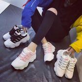 618好康鉅惠春季新款女鞋運動鞋女韓版百搭跑步鞋
