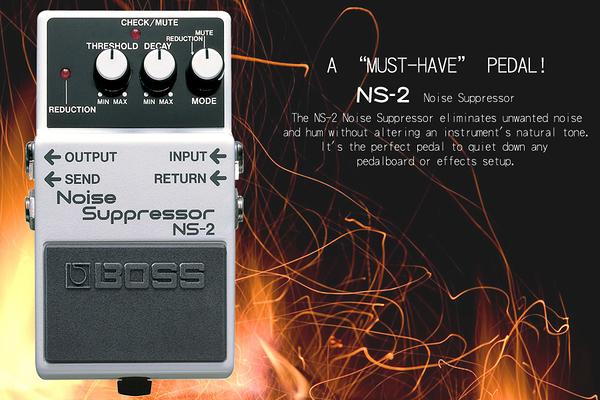 小叮噹的店 - 效果器 BOSS NS-2 雜訊抑制器 Noise Suppressor