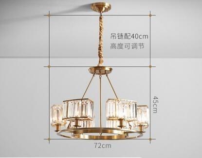 吊燈 2019新款客廳燈具套餐組合簡約現代網紅燈飾家用大氣輕奢水晶吊燈 MKS交換禮物