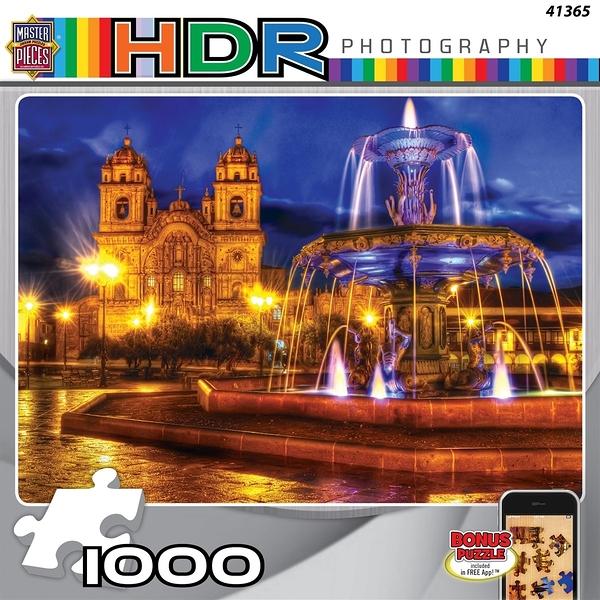 【KANGA GAMES】拼圖 HDR攝影 - 水舞 HDR Photography - Dancing Water 1000片