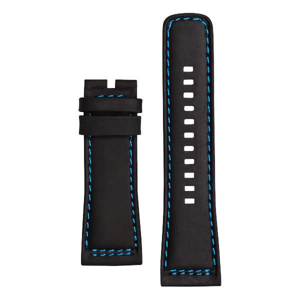 SEVENFRIDAY P1-4 原廠牛皮錶帶-黑