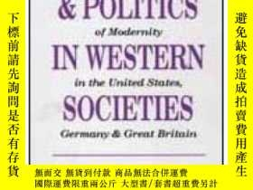 二手書博民逛書店Myths罕見And Politics In Western Societies: Evaluating The