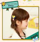 [韓風童品]出口韓國TUTUYA兒童髮飾  女童劉海夾 邊夾  狐貍造型邊夾    對夾