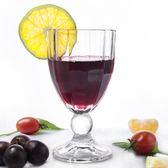 【三隻裝】水晶高腳玻璃紅酒杯白蘭地杯果汁杯飲料杯香檳杯套裝 初語生活館