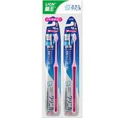 日本獅王固齒佳薄深潔牙刷-超小頭 2入【愛買】