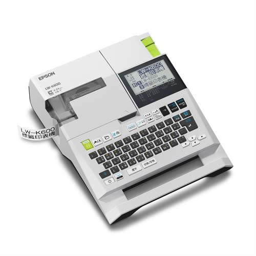 EPSON LW-K600 手持式高速列印標籤機【加購標籤帶85折】
