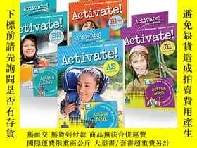 二手書博民逛書店美國Pearson罕見Longman英語學習 Activate!