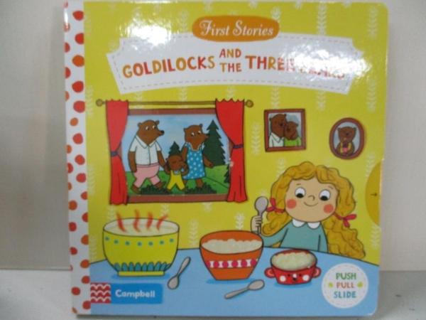 【書寶二手書T6/少年童書_EFI】First Stories: Goldilocks and the Three Bears_Rosenberg Natascha