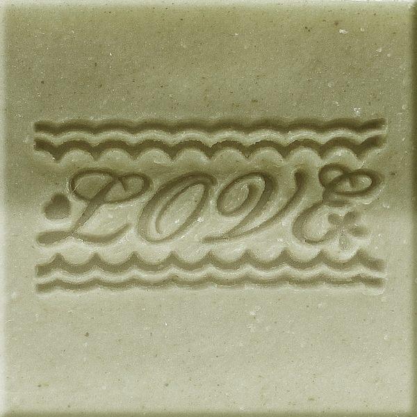 【香草工房】 風格皂章~A044 無盡的愛