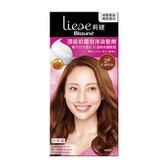 莉婕頂級奶霜泡沫染髮劑2P紅銅棕【康是美】
