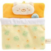 San-X 角落生物 沙包玩偶場景配件 角落小夥伴 床包組 貓咪枕頭 雜草棉被 橘黃