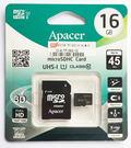 【Apacer 宇瞻記憶卡】microSD 16G 16GB micro SDHC 記憶卡 手機.平板.行車記錄器皆可適用