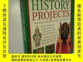 二手書博民逛書店英文原版罕見120 Great History Projects: Bring the Past into the