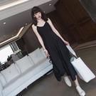 春秋2021年新款早春款女裝減齡兩件套裝洋氣吊帶洋裝子打底內搭 設計師