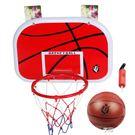 46.5cm兒童懸掛式籃球板籃球架鐵籃筐...