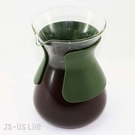 免運【用昕】 慢時光流線型熱玻璃壺~台灣製造 耐熱玻璃壺2色【600ML】(1件1入)