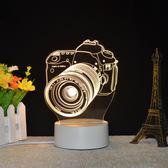 週年慶優惠兩天-創意夢幻3d台燈插電臥室床頭燈led小夜燈嬰兒喂奶燈迷你生日禮物