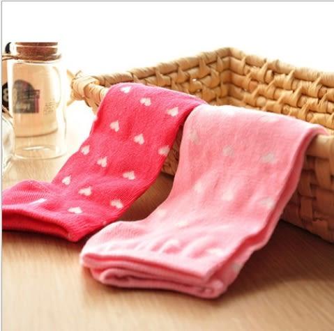 秋奇啊喀3C配件-時尚韓國 愛心點點可愛全棉襪子 短襪 船襪 女