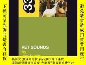 二手書博民逛書店The罕見Beach Boys Pet Sounds (33 1 3)-海灘男孩的寵物聲音(33 1 3)Y