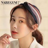 韓國簡約髮帶可愛髮箍小清新髮飾個性頭箍蝴蝶結甜美寬邊頭飾品-享家生活館