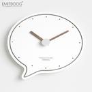 客廳新款創意家用掛鐘時尚個性靜音鐘表北歐現代簡約掛表
